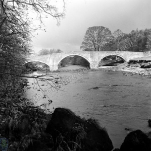 River Wharfe, Barden Bridge, 1966